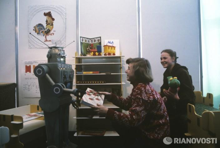 Робот Орион. Фото: А. Соломонов/РИА Новости