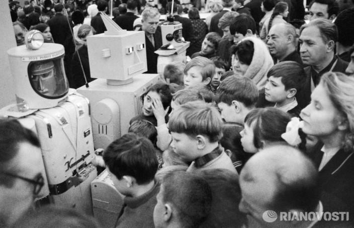 Роботы. Фото: Роман Денисов/РИА Новости