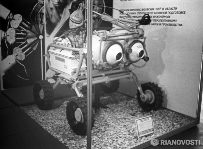 Выставка Научно-техническое творчество молодежи-80. Фото: Столяров/РИА Новости